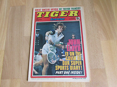 TIGER & Scorcher Magazine LEICESTER City FOOTBALL Team Picture 13/01/79
