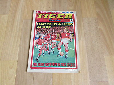 TIGER & Scorcher Comic DERBY County FOOTBALL Team Picture 07/10/78