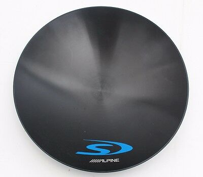 """Alpine Poly Dome Dust Cap Pulled from SWS-12D4 Subwoofer 220mm / 8.75"""" Diameter"""