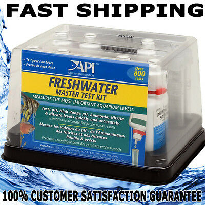 API Fresh Water Master Test KIt new