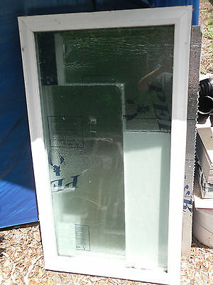 """Double Glass insulated Window 29.5"""" x 52"""" can't be opened"""