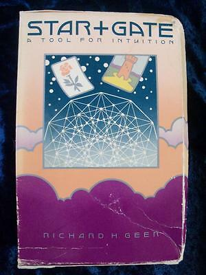 STAR+GATE ORACLE CARDS. A Tool for Intuition. Very Rare CARD AND BOOK SET