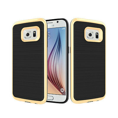 Hybrid Shockproof Dual Bumper Hard Case Cover For Samsung Galaxy S7 S7 edge