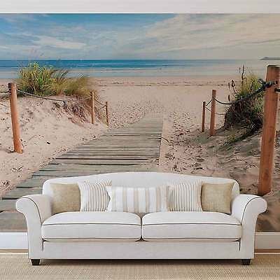 Beach Tropical WALL MURAL PHOTO WALLPAPER (1998DK)