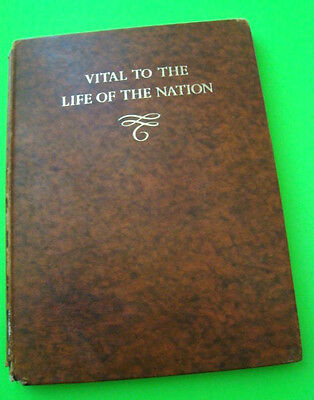 1946 BRITISH MOTOR INDUSTRY 1896 - 1946 Vital to the Life of the Nation LEATHER