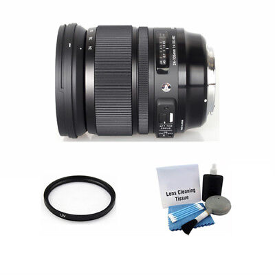 Sigma 24-105mm F/4 DG OS HSM Lens for Canon + UV Filter & Cleaning Kit