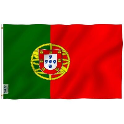 Anley Fly Breeze 3x5 Foot Portugal Flag Portuguese National Flags Polyester