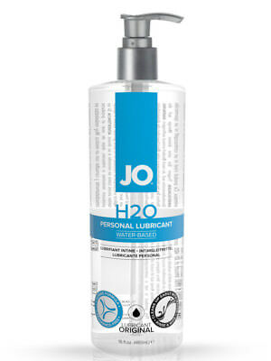 System Jo H2O Water-Based Lubricant Feels Just Like Silicone 480ml