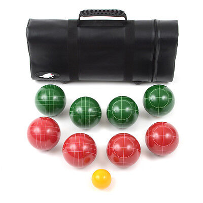 Lion Sports 75107Tc Best 107 Mm Tournament Resin Bocce Set In Tube Case New