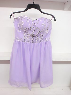 New Long Bridesmaid Formal Gown Ball Party Cocktail Evening Prom Dress Size 8