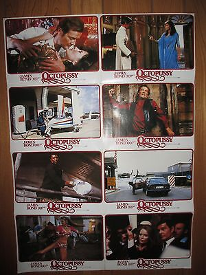 James Bond Rare Octopussy Lobby  Photos, Poster Format  Roger Moore
