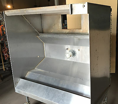 "4' Exhaust Hood Restaurant Commercial Stainless  Return Air     ""hd3010"""