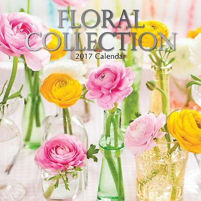 Floral Collection 2017 Wall Calendar NEW by the Gifted Stationery