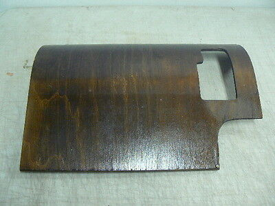 Antique 1921 Singer Curved Wooden Bottom Oil Pan Guard Cover from No.24 Cabinet