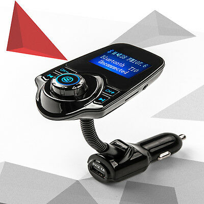 T10 Bluetooth FM transmitter  Receiver MP3 player with LCD screen car kits