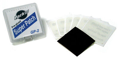 Park Tools GP2 - Super Patch SELF ADHESIVE & EASY Puncture Repair - 6 patches