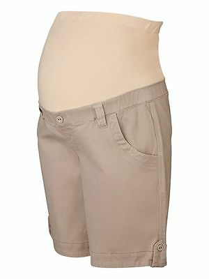Jeans West–Adele Maternity Shorts in Pebble Brown – BNWT – Size 10 / S