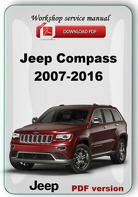 Jeep Compass 2007-2016 Factory Service Repair Manual