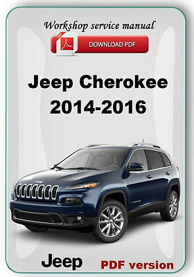 Jeep Cherokee KL Latitude Trailhawk 2014 2015 2016 Factory Service Manual