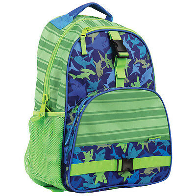 Stephen Joseph Boys All Over Print Shark Backpack - School Bags for Kids