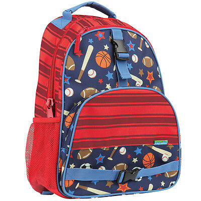 Stephen Joseph Boys All Over Print Sports Backpack -School  Bags for Kids