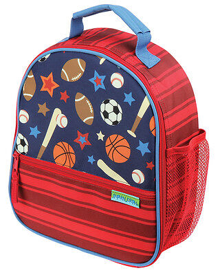 Stephen Joseph Boys All Over Print Sports School Lunch Box for Kids
