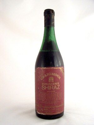 1975 CRAIGMOOR Winery Eurunderee Shiraz Isle of Wine