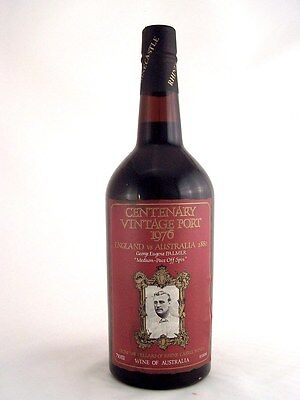 1976 RHINE CASTLE GEORGE PALMER Centenary Vintage Port Isle of Wine