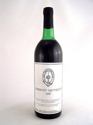 1987 GENDERS McLAREN VALE The Adelaide Club Cabernet H Isle of Wine