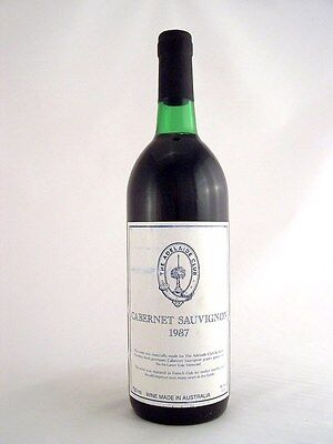 1987 GENDERS McLAREN VALE The Adelaide Club Cabernet G Isle of Wine