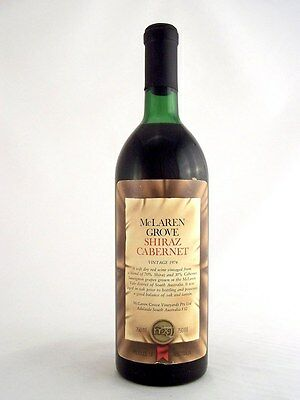 1974 McLAREN GROVE Shiraz Cabernet Isle of Wine