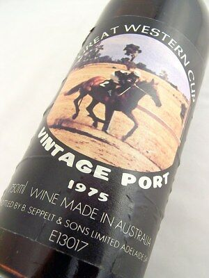 1975 SEPPELT GREAT WESTERN Cup Vintage Port Isle of Wine