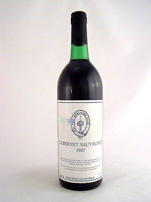 1987 GENDERS McLAREN VALE The Adelaide Club Cabernet F Isle of Wine