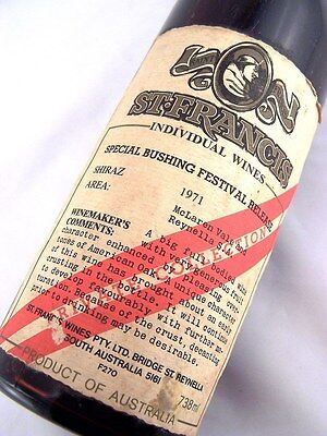 1971 ST FRANCIS WINES Special Bushing Festival Shiraz Isle of Wine
