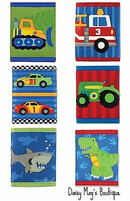 Stephen Joseph Assorted Wallets for Kids - Money Holder for Boys