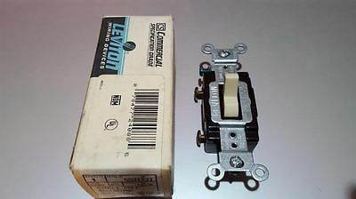 Leviton	5521-2I	Single Pole Grounding Quiet Toggle Switch Side Wired 20A 120/277