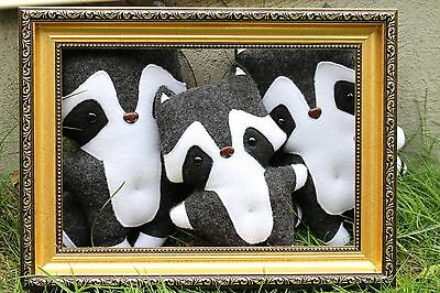 Mommy, Daddy and Me, Raccoon Staffed Animals, Toy family, Animal Toy Set of 3