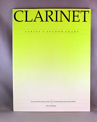 AMEB Vintage Clarinet Series 1 Second Grade - Brand New Repertoire Book