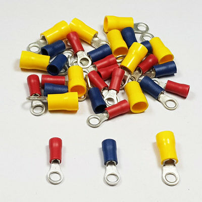 Insulated Ring Terminal Connector Terminals Crimp Electrical Terminal Cable