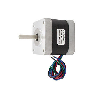 4-lead Nema 17 stepper motor 42BYGHW609 with 4000g.cm 56oz-in holding torque