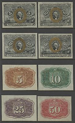 2Nd Issue Specimen Proofs - Obverse & Reverse - Complete Set Of 8 Gem Cu Wlm1407