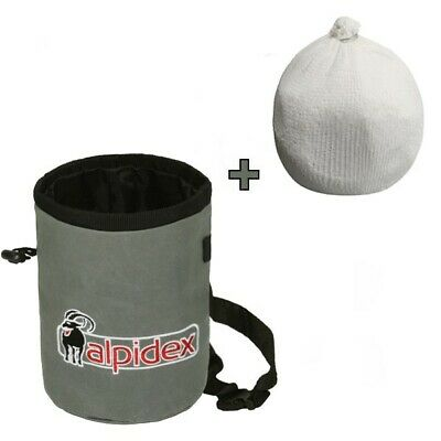 Chalkbag HIGHFLY Grey Mountain Alpidex mit Chalk Ball 35g 100% Magnesiumcarbonat