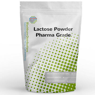 Lactose Powder - Pharma Grade - 1Kg - 100% Pure - Tablet Making, Brewing