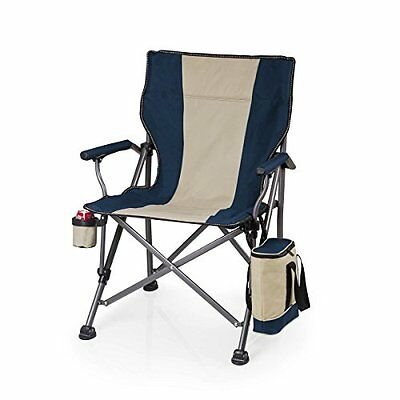 Picnic Time Outlander Camp Chair Navy 800-00-138 New