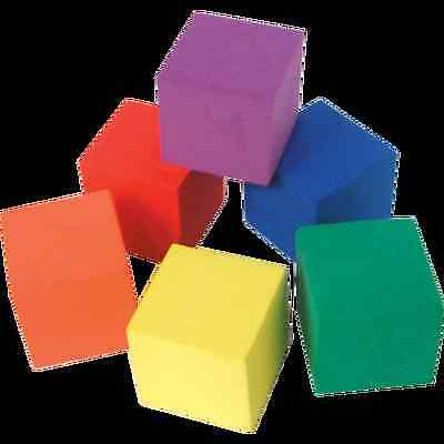 "Foam Color Cubes 1"" Set Of 30 Tcr20615 Brand New"
