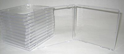 100 New High Quality 10.4Mm Cd Jewel Cases & Smart Double Black Tray, Bl100/yl28