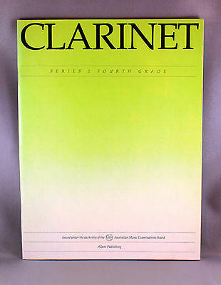 AMEB Vintage Clarinet Series 1 Fourth Grade - Brand New Repertoire Book
