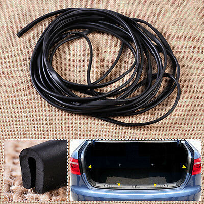 20ft Soft Flexible Door Glass Rubber Weatherstrip U Channel Seal Strip Edge Trim