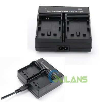 AU Ship Dual Channel Digital Camera Battery Charger for Sony NP-FW50 A5100 A6000