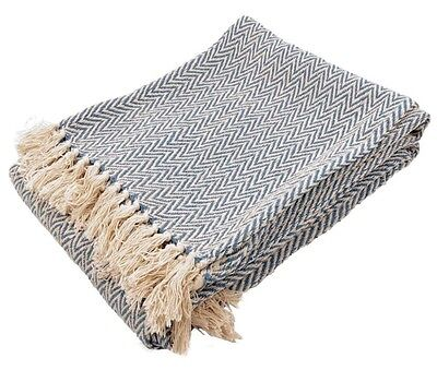 Cotton Summer Throw Soft Handfeel 125X150 Cm